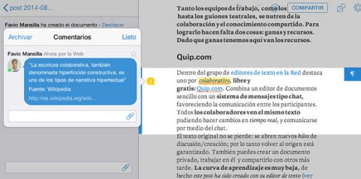quip-editor-texto-on-line